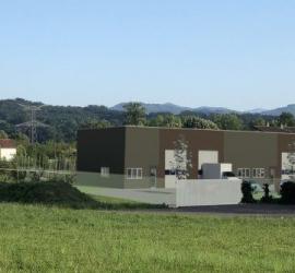 LOCAUX D'ACTIVITE A LOUER 73 ST GENIX LES VILLAGES de 440 à 880 m² adaptables selon projet